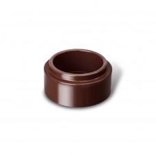 Адаптер водосточной трубы ПВХ RainWay 100/75мм коричневый (8017)