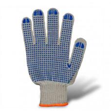 Перчатки трикотажные с точкой ПВХ (608)
