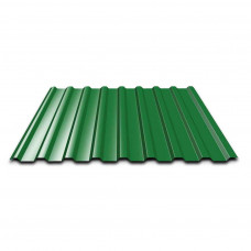 Профнастил ПР-10 960х2000х0,3мм зеленый RAL6005